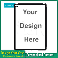 Custom printed back pc phone case for iPad air 2