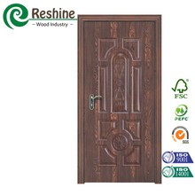 High shining surface melamine mdf moulded door skin