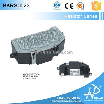 A c blower motor resistor for vw jetta golf mk5 6 passat for Vw passat blower motor resistor