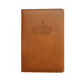 2018 hot sale customize A5 leather/PU business notebook