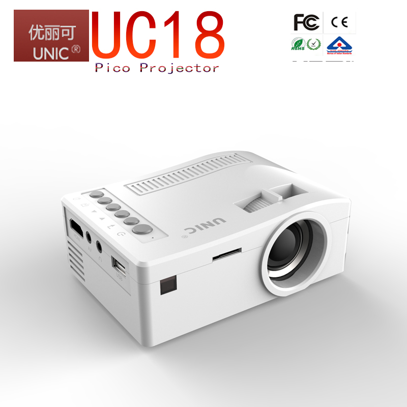 Dowlab Factory direct sale 2017 hot wireless connection 1200lumens wifi projector home theater projector UC46 projector