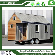 Modern durable wooden prefab tiny houses