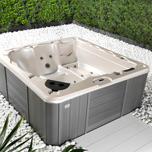 Vigor Popular 3 PersonSquare Pools Above Ground Balboa Hot Tub Outdoor Whirlpool 3