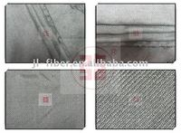 knitting metal fabric