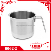 Stainless Steel Milk pot with a spout