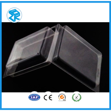sanitary food grade packaging disposable clear plastic clamshell food containers