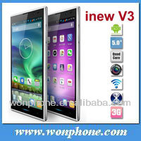 "Newest Original Inew V3 MTK6582 Quad Core Smartphone 5"" HD Screen 1G RAM 16G ROM Android 4.2 13MP Camera NFC OTG Thin Phone"