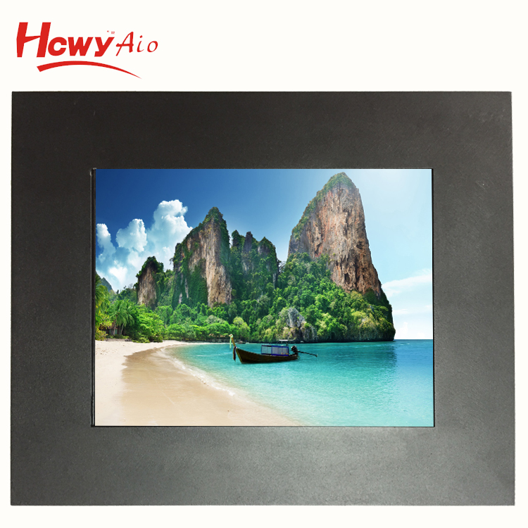VGA LED Display 7 inch 8 inch Open Frame Monitor/Touch Screen LCD Monitor For Metal KIOSK Cabinet