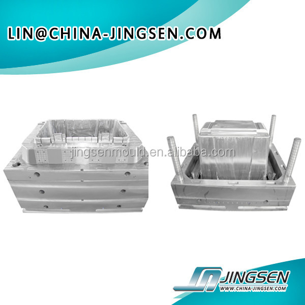 Wholesale popular storage plastic box injection mold made in China,plastic mold maker