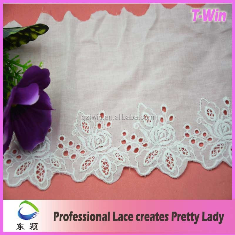 New Product Promotion decorative lace trim gray lace trim
