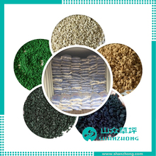 Colorful Infilling epdm granule granulated rubber and recycled rubber granule price