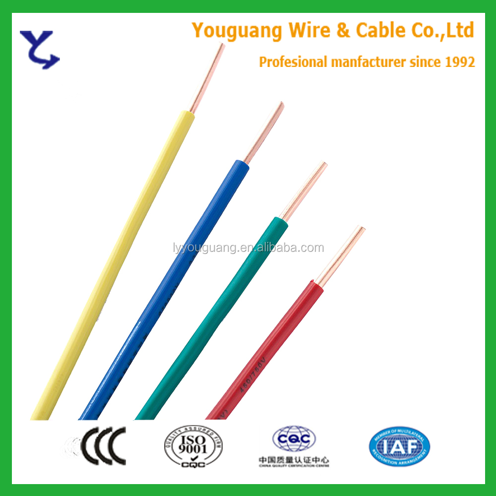 Electrical Wire Types 1.5mm2 2.5mm2 4mm2 6mm2 10mm2 16mm2