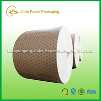 China Disposable Single Sided Pe Coated Paper Clay Coated Paper