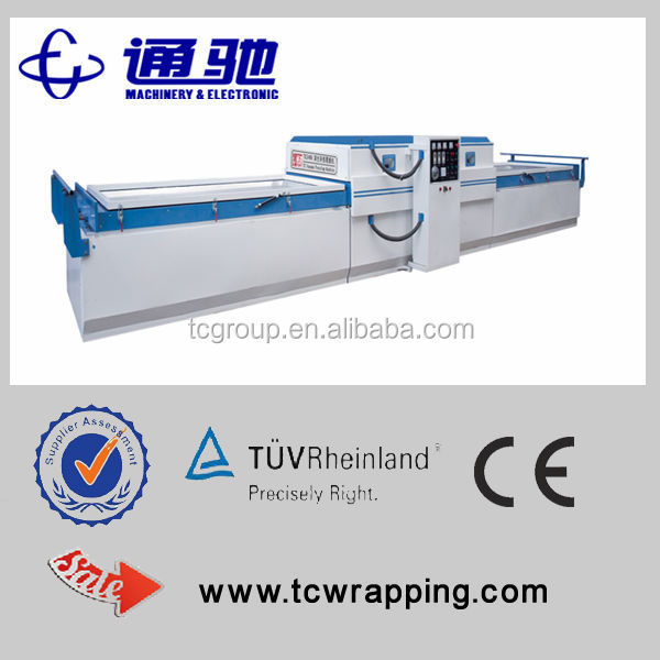 foshan woodworking hydraulic press lamination machine for furniture