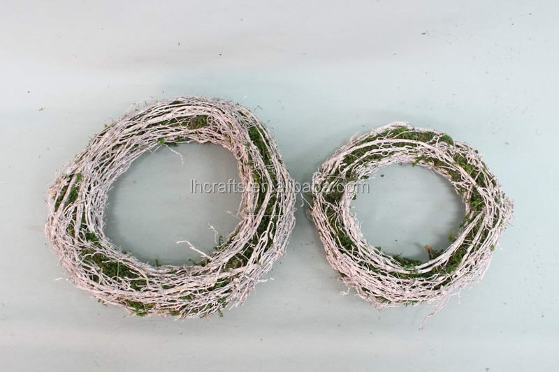 new garden rattan ornament christmas garland