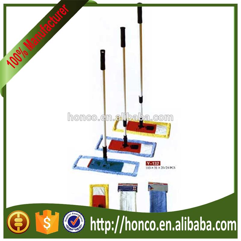 Alibaba hot selling floor cleaning industrial mops with great price HC-YM308
