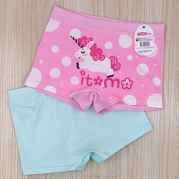2816#Thong of kid girls hot sales Lovely Underwear Boxer Short