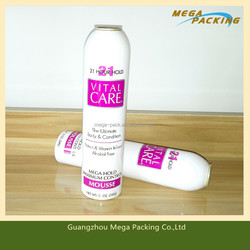 Hot sale aluminium empty Aerosol packing Cans for personal care/dry shampoo/lotion