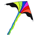 rainbow triangle kite outdoor children fun sports