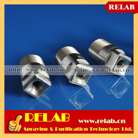 Stainless Steel Water Jet Full Cone Square Spray Nozzle