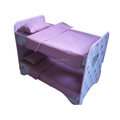 Wholesale New Design Eco-Friendly Cheap Baby Doll Bed Lovely Toy Beds