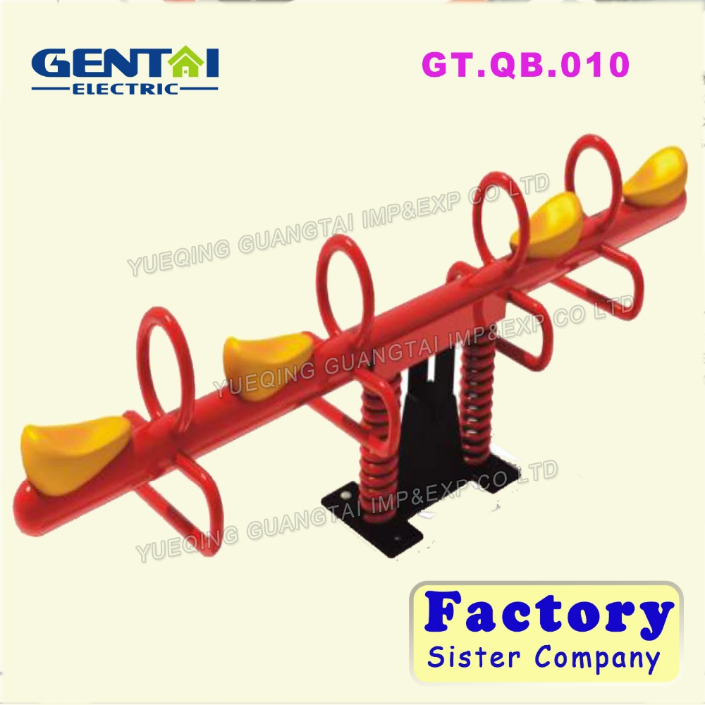 2016 most popular children playground seesaw ,garden outdoor playground seesaw toys