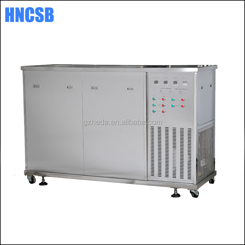 Ultrasonic vapor degreaser for PCB board