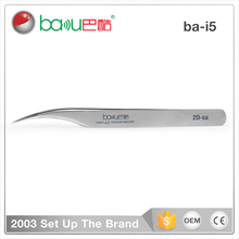 BAKU BK-i5 High-quality Precision Stainless Steel Grainy Polished Medical ESD Tweezers For Mobile phone circuit board