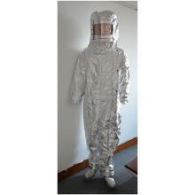 aluminized Fire Proximity Suit, heat resistant aluminized suits