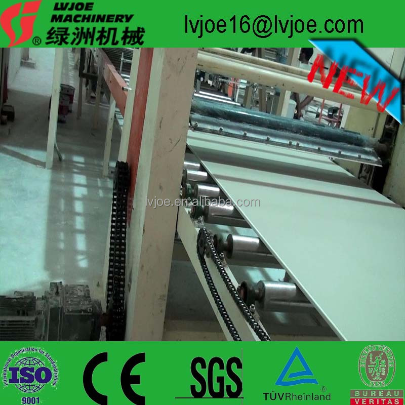 Paper-Covered Gypsum Plaster Board Production Line with 1,800 to 3,600mm Length