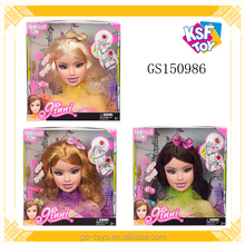 3 Styles For Select Beauty Set Toy Fashion Make Up Doll Head