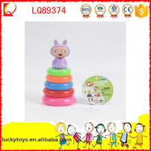 Educational rounded stack rings toy for kid