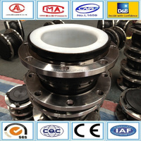 To prevent pipeline vibration displacement PTFE stainless steel expansion joint