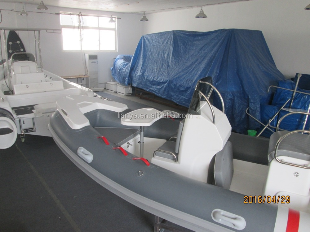 Liya 5.2m hypalon tubes price rigid inflatable hypalon tubes boat