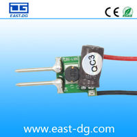 3*2W AC/DC12V LED Power Supply, led driver factory