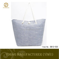wholesale designer canvas women handbags made in china