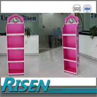 Supermarket display workable and beauty corrugated plastic pop display stand/rack