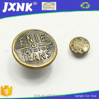 anti brass metal studs for clothing for men's coat