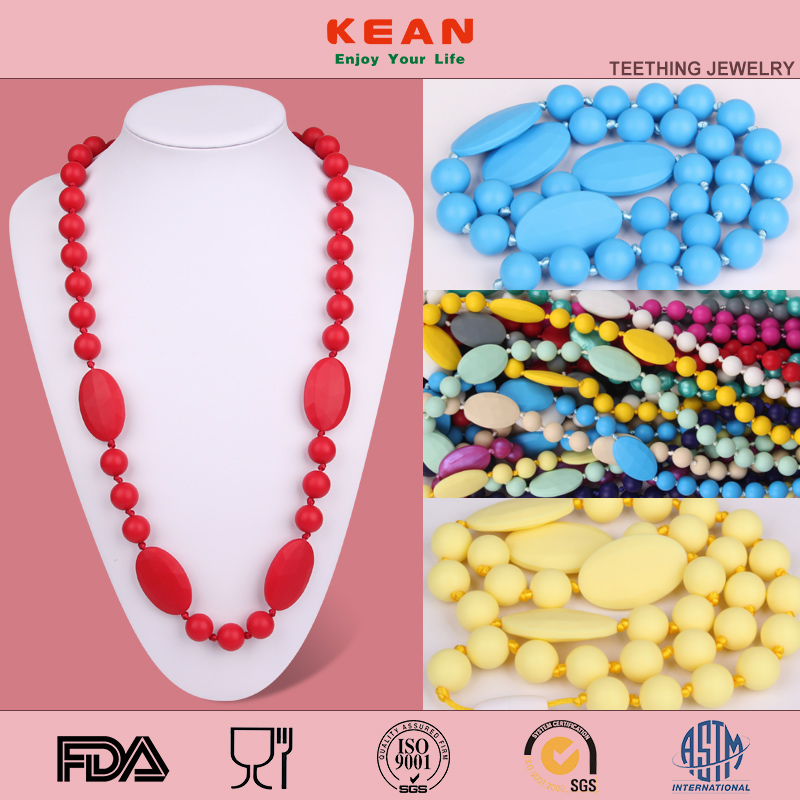 Cheap Engraved Necklaces Silicone Jewelry Popular