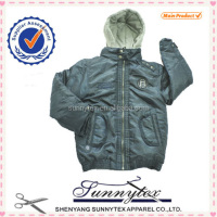 2016 childrens warmer jacket with fake fur hood