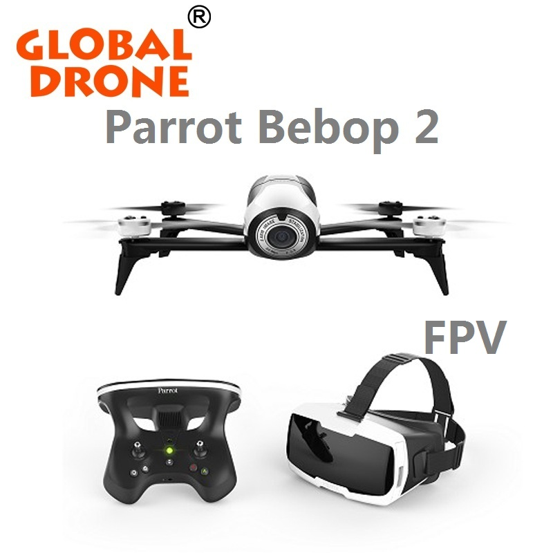 In stock! Parrot Bebop 2 + FPV Asia Version 14MP Full HD 1080p Fisheye 25 Mins Brushless RC Mini Drone Quadcopter 3-Aixs Gimbal