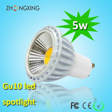 high brightness 50W Halogen Dimmable Replacement 450LM LED Spot GU10 5W LED Light Bulbs