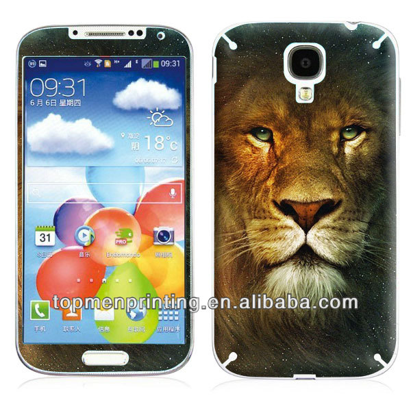 King of lion new stylsh fashion design cover skin for samsung galaxy s4 i9500