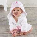 High quality hooded animal modeling baby cartoon towel kids bathrobe