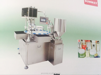 2016 nice cosmetics filling and capping machine