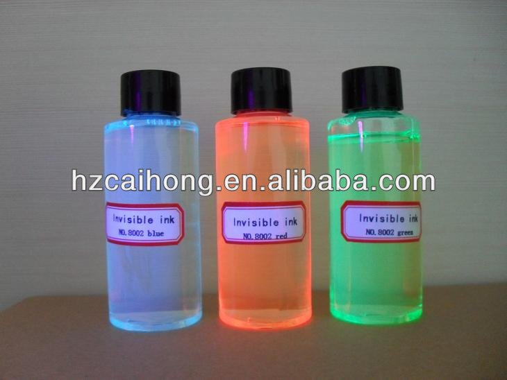 Hot UV invisible ink ,for secret use,can refill pens CH8002,three colors for choose