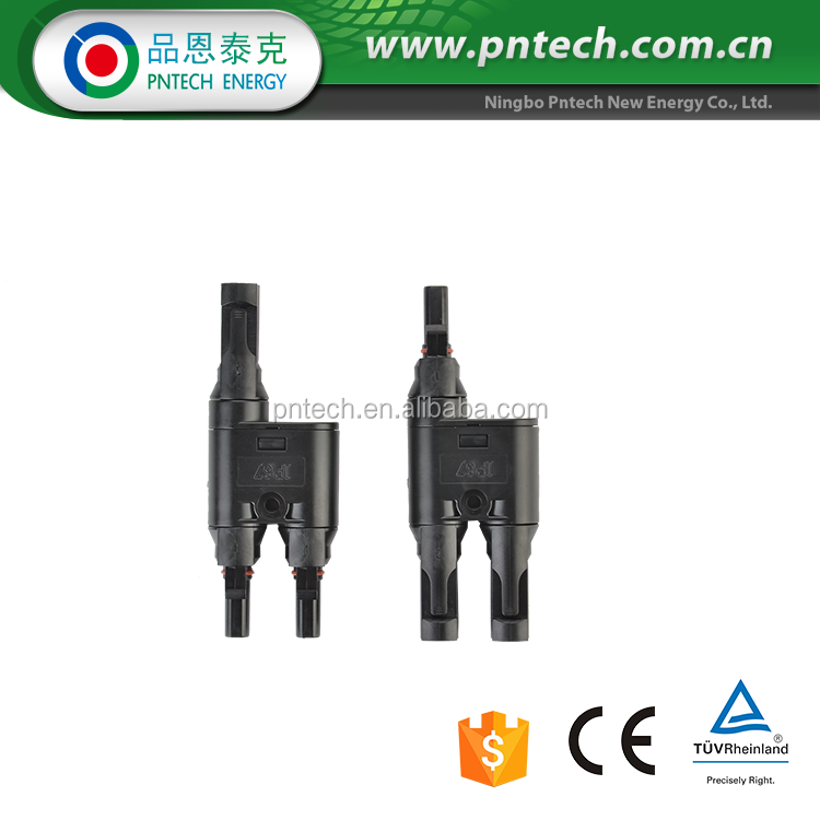 Solar connector solar panels connector PV004-T mc4 connector