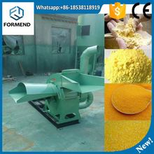Animal feed grinder and hammer mill crusher for elephant grass