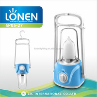LONEN SP05-27 40SMD candle rechargeable solar led lantern
