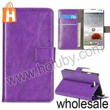 China Supplier Leather Case for LG D605 Optimus L9 II,Stand Leather Case with Card Slots
